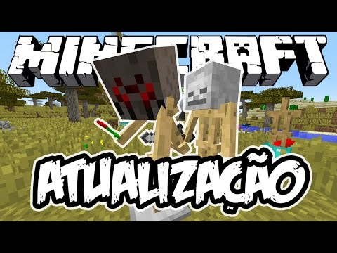 NOVO SUPORTE DE ARMADURAS! - Atualização de Minecraft (NOVA)