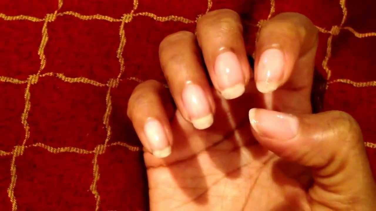 3 weeks of Natural nail growth!! I\'ll review products soon.
