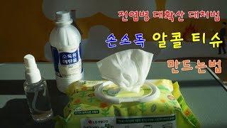전염병 대유행, 손소독…
