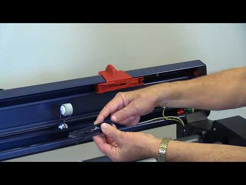 MP Plotter Paper Cutting Device Instructions