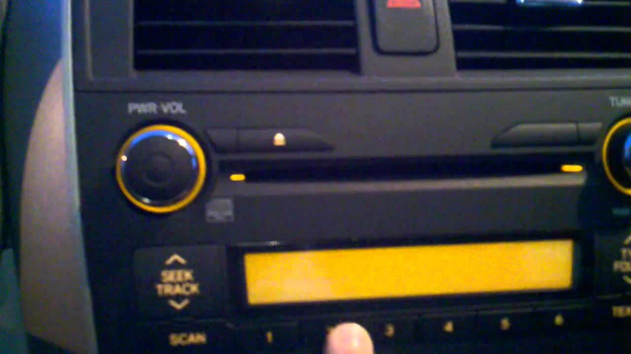 2010 corolla radio problem youtube rh youtube com 2010 toyota corolla radio problems 2014 toyota corolla radio problems