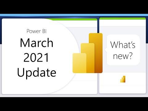 Power BI Update - March 2021
