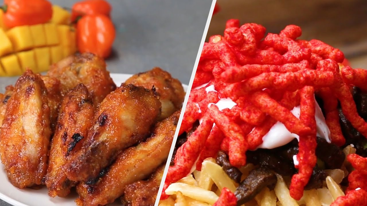 8 Insanely Spicy Food Recipes – Are You Up For The Challenge? • Tasty