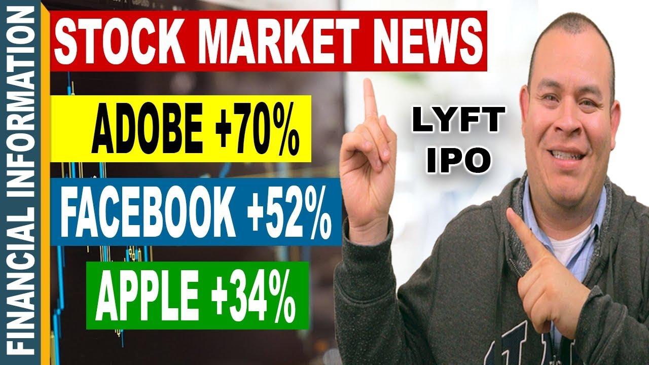 Lyft Ipo Adobe Apple Facebook Stocks Earnings October Stock