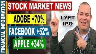 LYFT IPO, Adobe, Apple, Facebook, Stocks Earnings   October Stock Market News   Oct 16-20