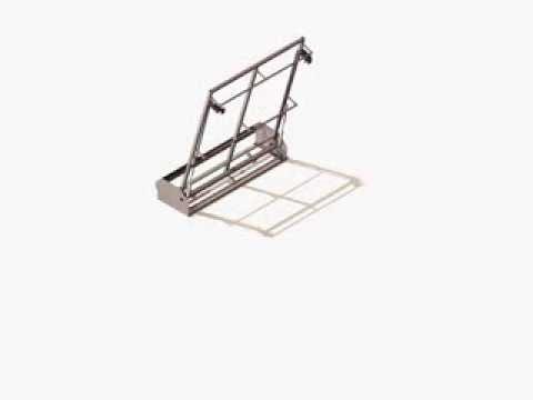 ferrure pour lit escamotable g rard peysson youtube. Black Bedroom Furniture Sets. Home Design Ideas