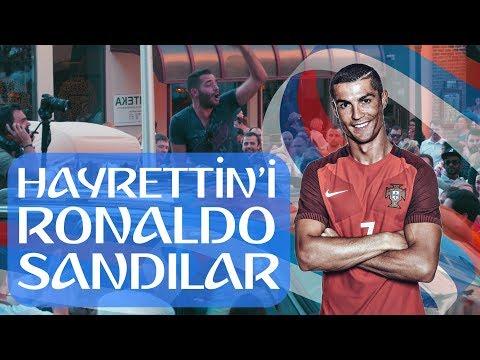 Hayrettin'i Cristiano Ronaldo Sandılar!  🇷🇺