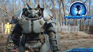 Fallout 4 - X-01 Power Armor Location Full Set (Strongest Power Armor)