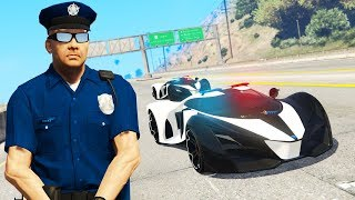 GTA 5 - THE POLICE HAVE SUPERCARS! (Mod)