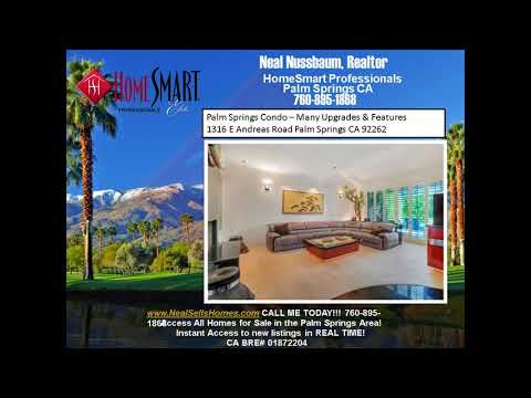 Palm Springs Condo For Sale  Many Upgrades and Home Theater Palm Regency