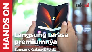Hands-on Samsung Galaxy Z Fold2, layarnya asik