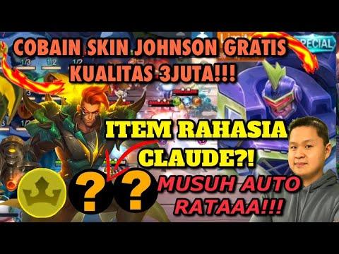 JONSON SKIN GRATiS TERKEREN!! ITEM RAHASIA CLAUDE BOSSS