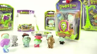 ЗОМБИ  Zombie Zity toys for kids Video Review Зомби Зити игрушки для детей ОБЗОР(ZOMBIES watching all! We present you the new product channel - Zombie Ziti. Small jumping monsters! Just two unpacking toys in one video. And so, select the ..., 2016-04-13T06:05:00.000Z)