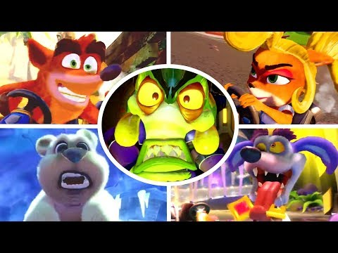 Crash Team Racing Nitro-Fueled - All Characters Trailers
