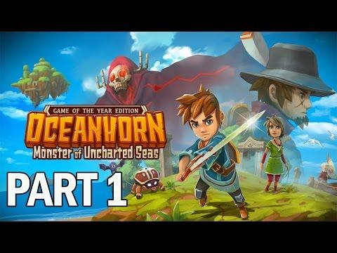 Oceanhorn Monster of Uncharted Seas Walkthrough Part 1 - Let's Play Gameplay (PC)