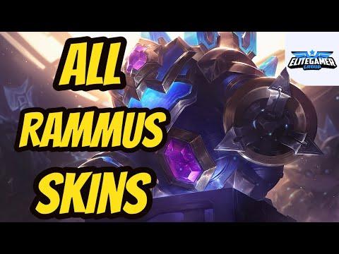 All Rammus Skins Spotlight League of Legends Skin Review