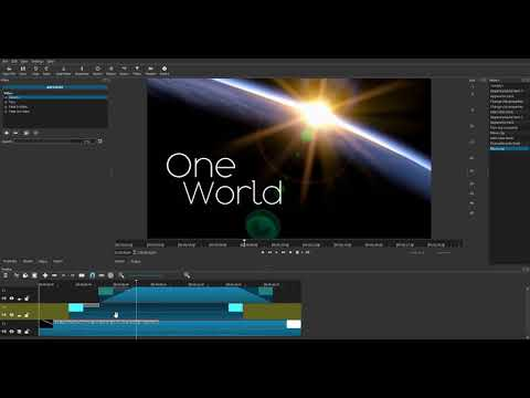 Shotcut Pumping Zoom and Multi-Pan Complex Animations using