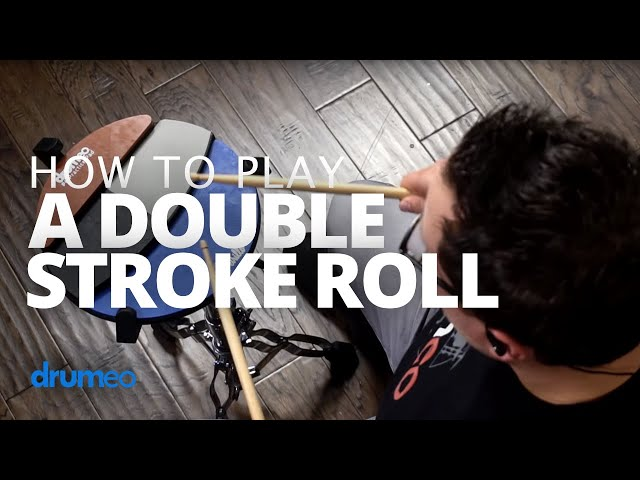 Double Stroke Roll - Drum Rudiment Lesson (Drumeo)