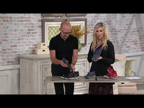 Softinos by FLY London Leather Lace-up Sneakers – Indira on QVC