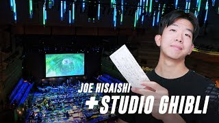 I Went To A Studio Ghibli Concert + Joe Hisaishi as Conductor
