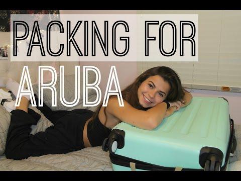 Packing for ARUBA | Amanda Pulitano