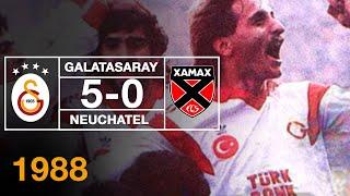 Nostalji Maçlar | 1988-1989 Sezonu Galatasaray 5 - 0 Neuchatel Xamax