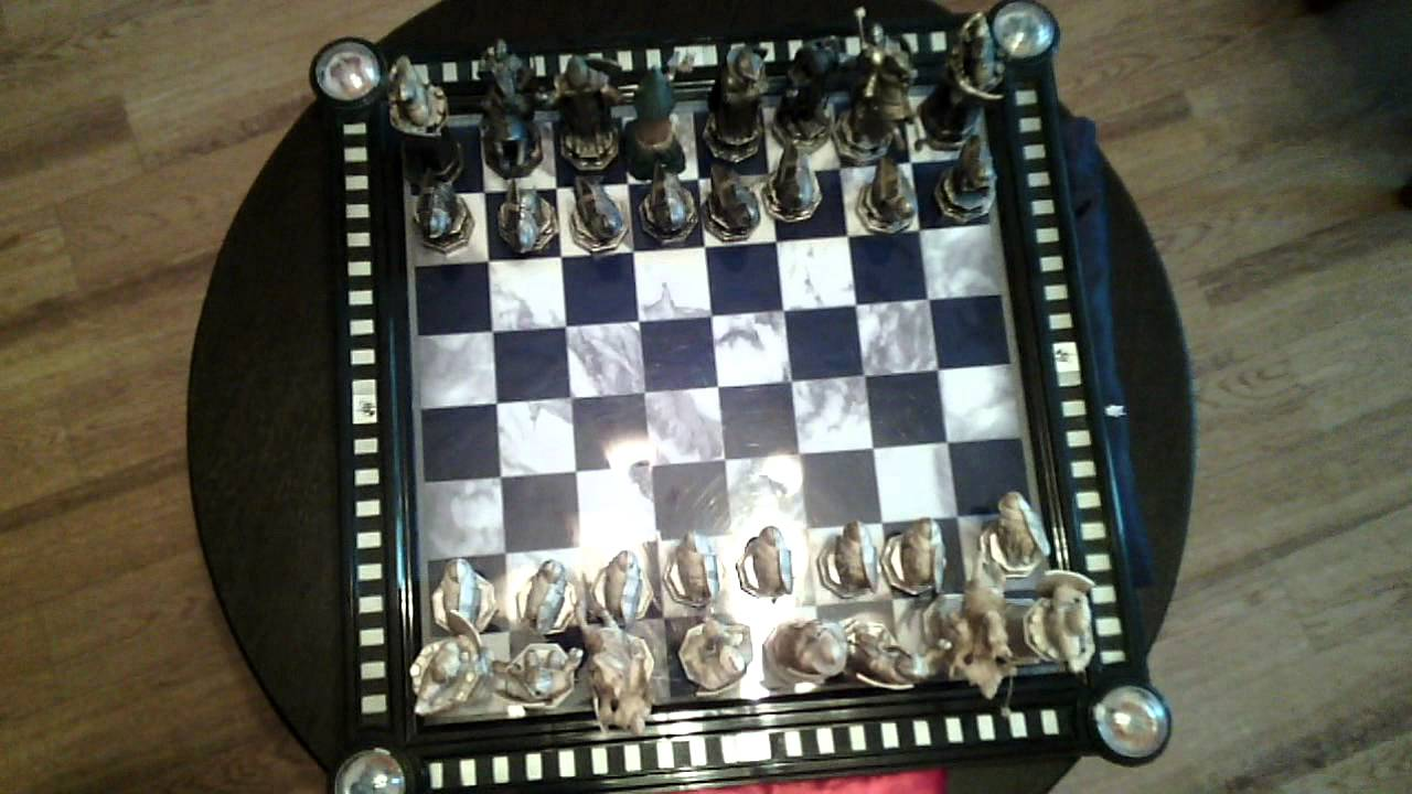 Harry Potter Wizard Chess Set by DeAgostini and Time Turner [HD .