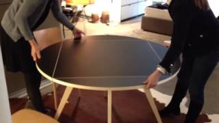 Max Bill Square Round Table Demo