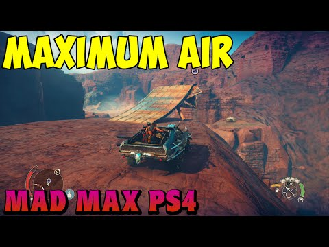 Mad Max - Maximum Air Achievement Location Trophy Guide
