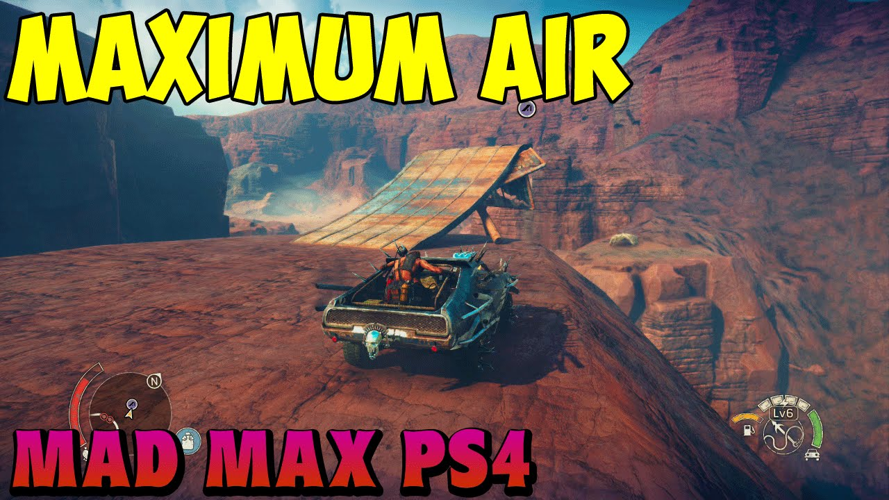 Mad Max Maximum Air Achievement Location Trophy Guide Youtube