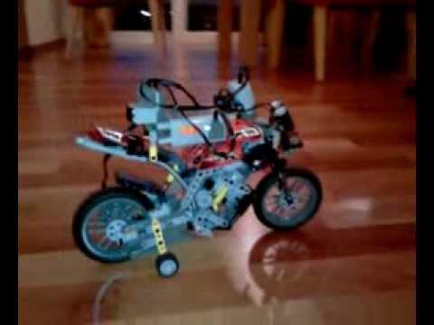 lego technic motorrad 8051 tuning mit motoren und. Black Bedroom Furniture Sets. Home Design Ideas