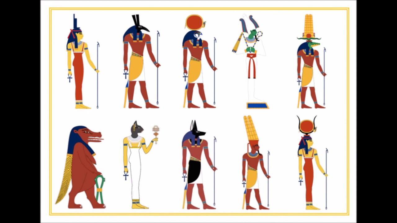 Los Dioses De Egipto Audiovisual Infantil Youtube