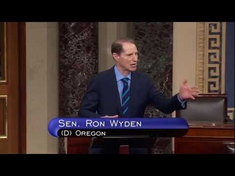 Wyden: Enough. Silence and inaction on gun violence is just not enough
