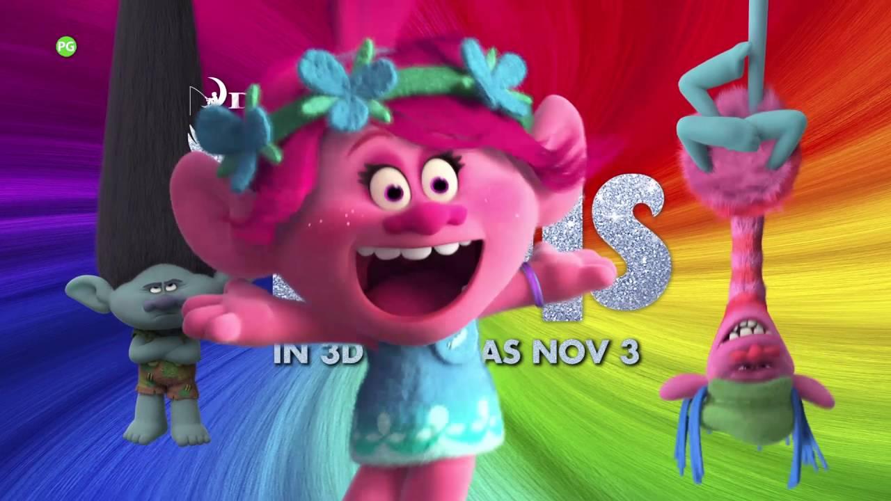 DreamWorks' Trolls ['Jumpin' Bumper Ad in HD (1080p)] #1
