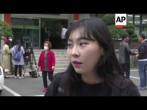 Voting continues in SKorea presidential election