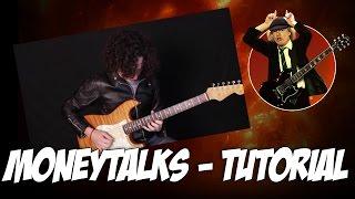 Como Tocar Moneytalks de AC/DC - Tutorial para Guitarra electrica (Angus Young)