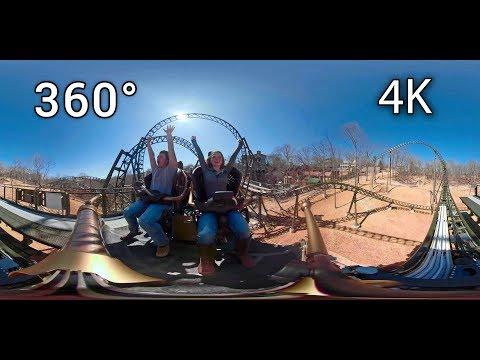 Time Traveler 360° On-ride 4K POV Silver Dollar City