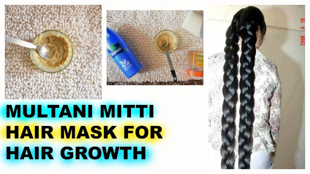 Multani Mitti Hair Mask Hair Growth Benefits Oily Hair Get