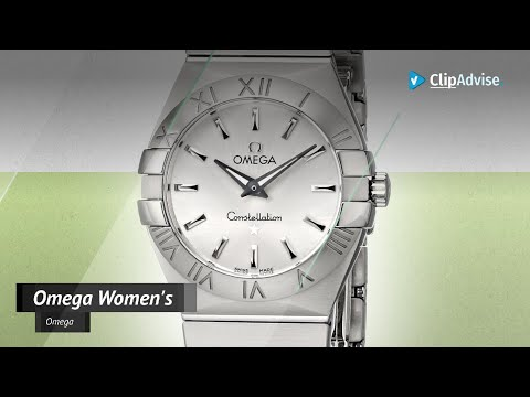 Omega Women's 123.10.27.60.02.001 Constellation Silver Dial Watch | Luxury Watches 2019