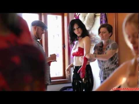 About Cherry (2012) - latex scene HD 1080p