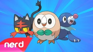 Repeat youtube video PokeRap Alola Version! | Pokemon Sun & Moon | #NerdOut