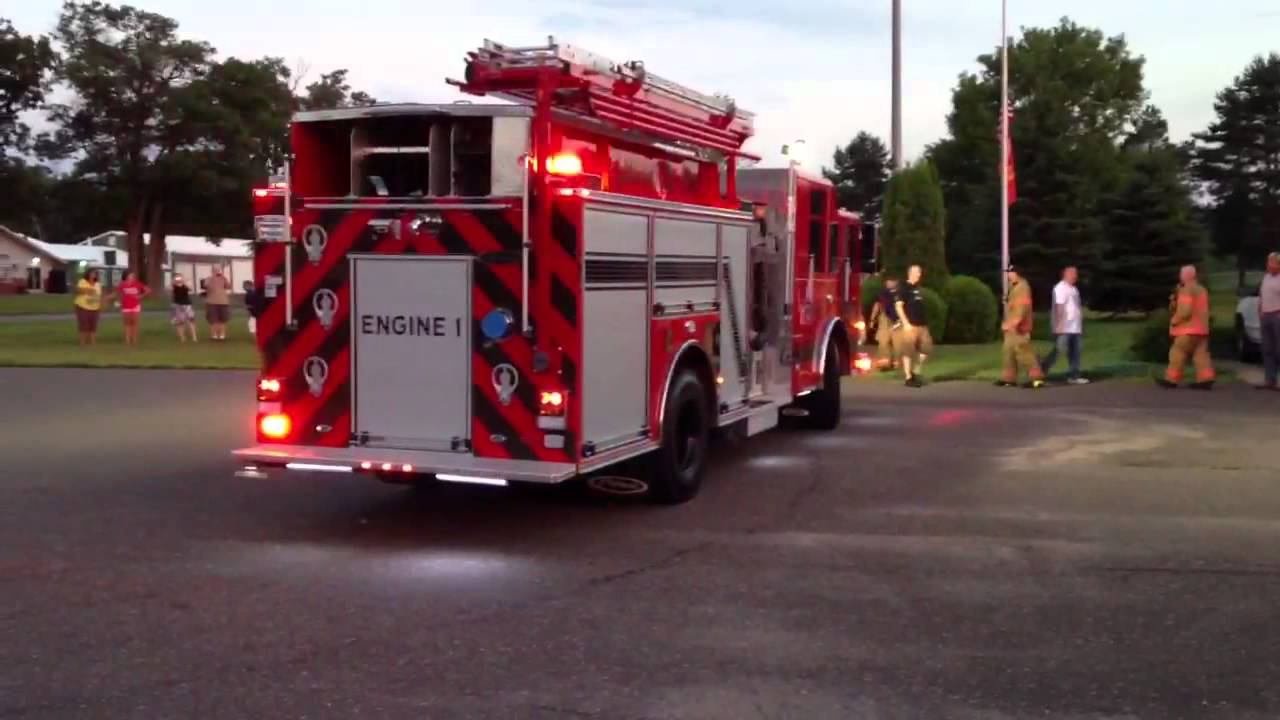 Linwood's New Fire Truck - YouTube