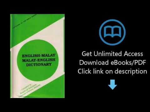 Download English Malay / Malay English Dictionary PDF