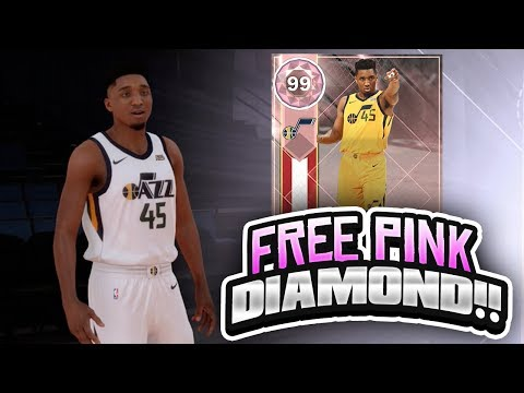 94e58c1616b FREE PINK DIAMOND DONOVAN MITCHELL LOCKER CODE!! WE GOT HIM! (NBA 2K18