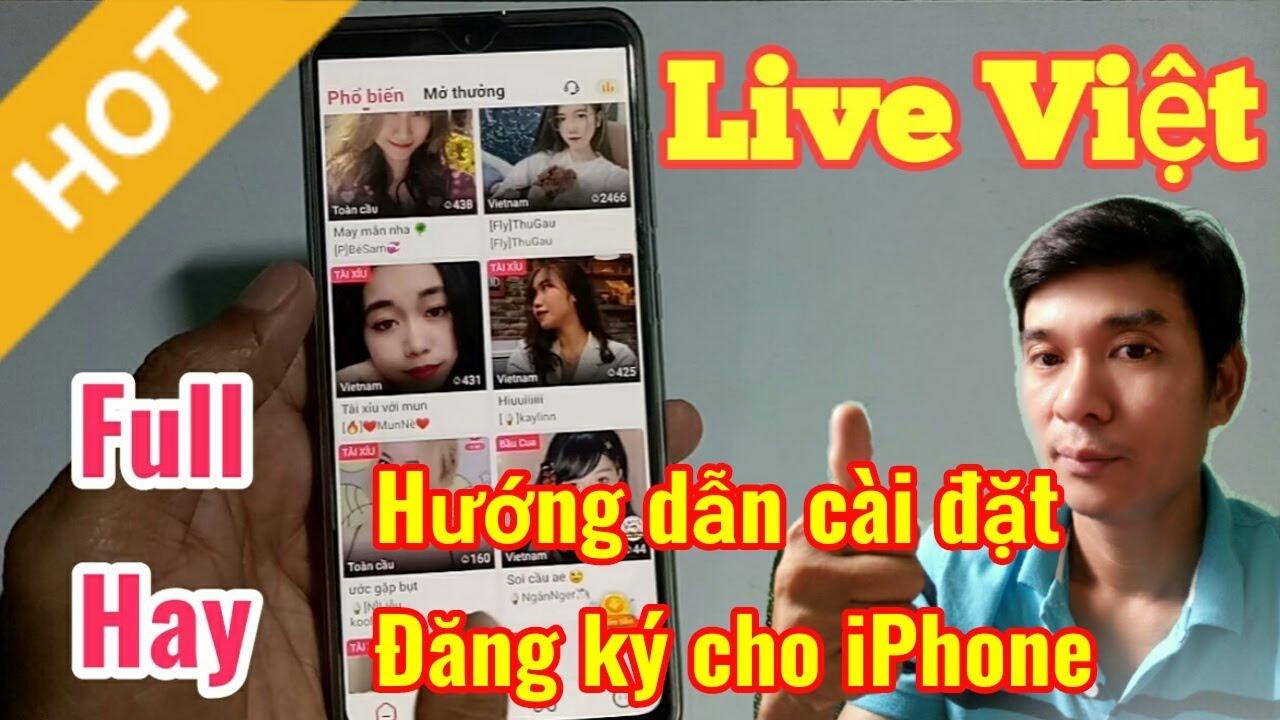Cách cài đặt và đăng kí app live việt cực hot cho iPhone   Bao quát các kiến thức về tải app live 186 chi tiết nhất