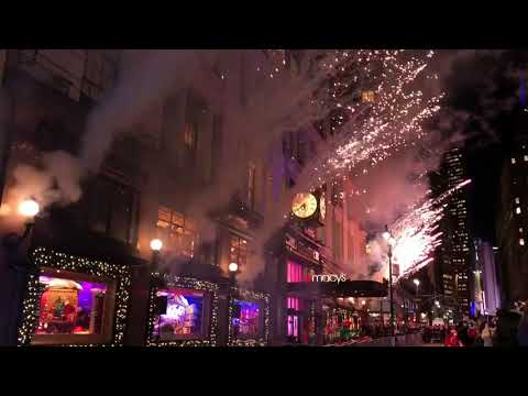 Macy's Herald Square 2017 Holiday Window Unveiling