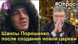 Украинцы о рейтинге Порошенко. Томос и новая церковь не помогут