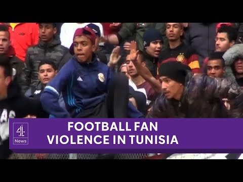 Tunisian football's problem with fan violence and rioting
