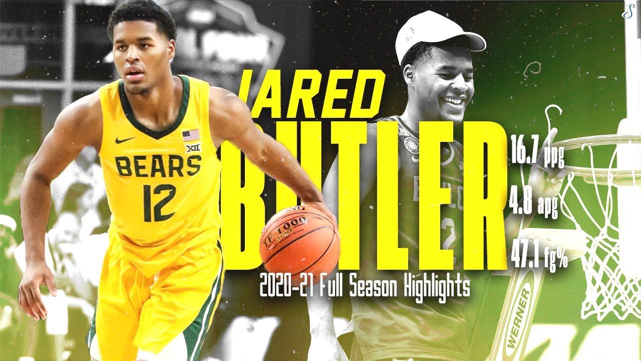 Jared Butler Baylor 2020-21 Full Season Highlights | 16.7 PPG 4.8 APG 47.7 FG%, NCAA Tourney MOP!