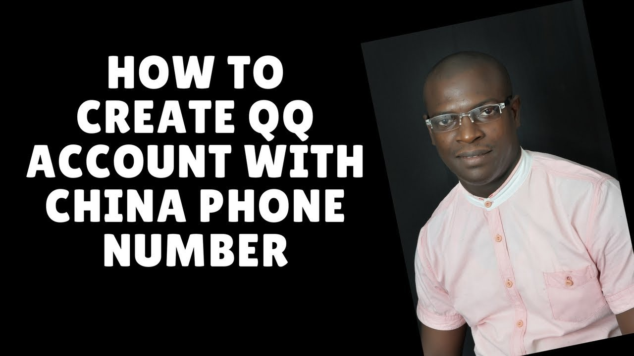 how to create qq account with china phone number